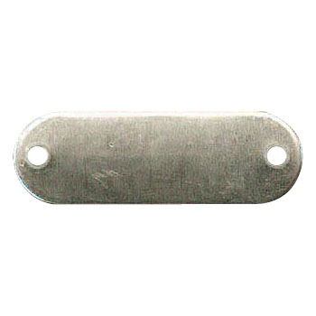 Stainless Blank Tag
