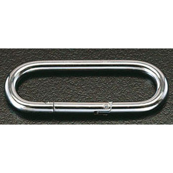 4x 38mm Stainless Steel Carabiner