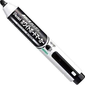 Knock Type Whiteboard Marker