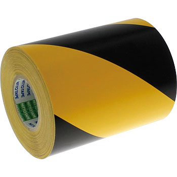 90mmx10m Hazard Stripe Tape