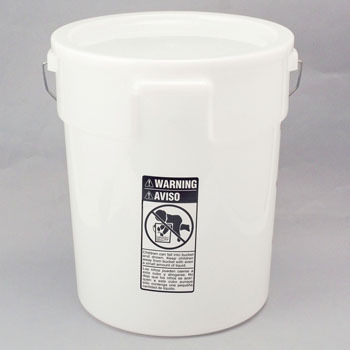 20L scale with plastic bucket