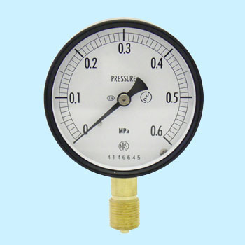 Normal type pressure gauge (A frame / Vertical) 75phi