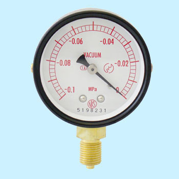 Normal-type vacuum gauge (A frame / Vertical) 60phi