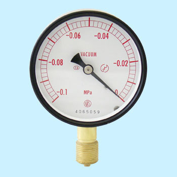 Normal-type vacuum gauge (A frame / Vertical) 75phi