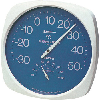 "Thermo-Hygrometer TH-300, ""Chateau"""