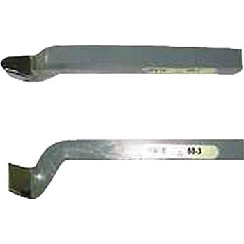 byte with blade attached for flate cutting, 60 shape point corner straight turning tools