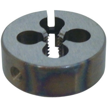 Adjustment type screw cutter circular screwing diametric thread
