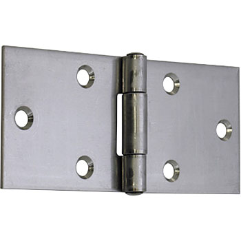 Stainless Wide Hinges (with Holes)