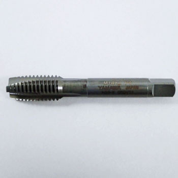 Metric screw for stainless steel tap point
