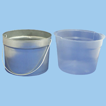 Pails With Steps Attached