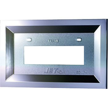 ABS NO.PLATE HOLDER GAKU(M)
