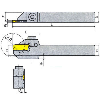 Lathe Cutting Holder