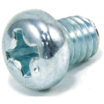 Pod Head Machine Screw, Iron / Uni-Chromium