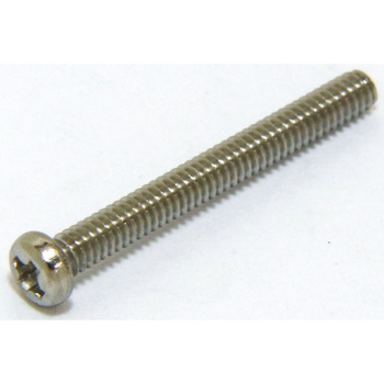 Pan Head Machine Screw, Stainless Steel