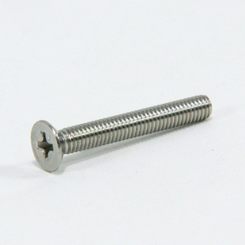 Countersunk Head Machine Screw, Stainless Steel