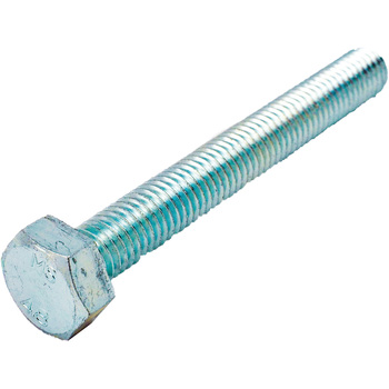 Hex Head Bolt, Iron / Uni-Chromium) All The Screw Threads
