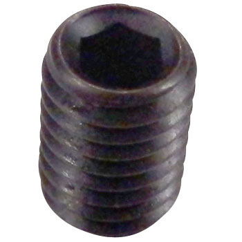 Hex Stopper Thread Cavity, Scn435/Black Oxide Film