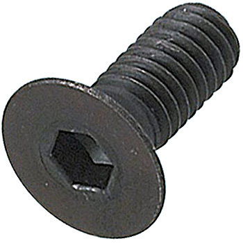 A Flat Hex Bolts, Scm435/Black Oxide Film