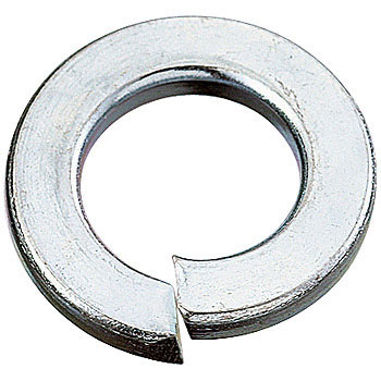 Spring Washer, Iron/Uni-Chromium