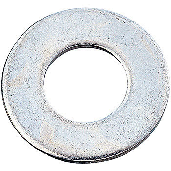 Flat Washer Small Size, Iron / Uni-Chromium