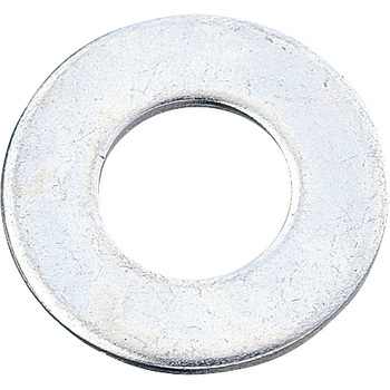 Flat Washer, Iron / Uni-ChromiumInch Size