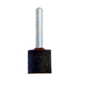 Sponge whetstone with attached axle