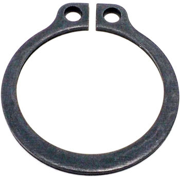 Snap Ring for Axes, Steel for Springs, Hrc 44-53,