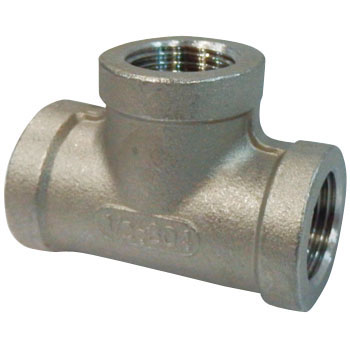 Tee Stainless Steel Made Threaded Pipe Joints