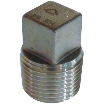 Plug Stainless Steel Made Threaded Pipe Joints