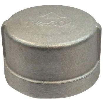 Cap Stainless Steel Made Threaded Pipe Joints