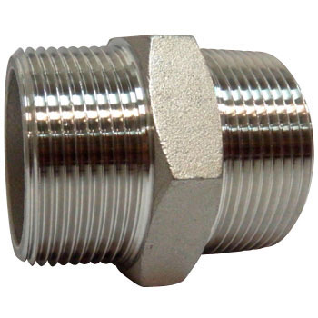 Nipple Stainless Steel Made Threaded Pipe Joints