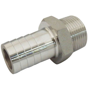Hose Nipple Stainless Steel Made Threaded Pipe Joints
