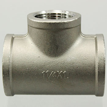 Reducing Tees Stainless Screw Pipe Fitting