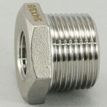 Reducing Bushing Stainless Screw Pipe Fitting