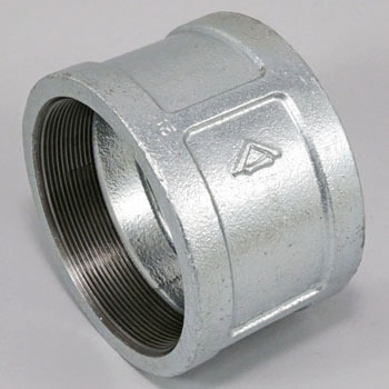 Socket Malleable Cast Pipe Fitting White