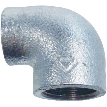 Reducing Elbow Malleable Cast Pipe Fitting White