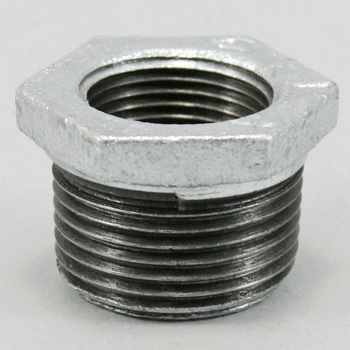 Bushing Malleable Cast Pipe Fitting White