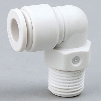 Touch Connector Five Resin Male Elbow
