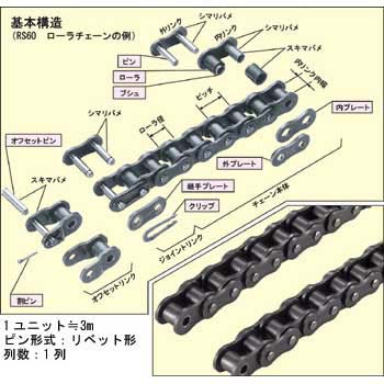 TSUBAKI RS 50 NEW ROLLER CHAIN CONNECTING LINK RS50
