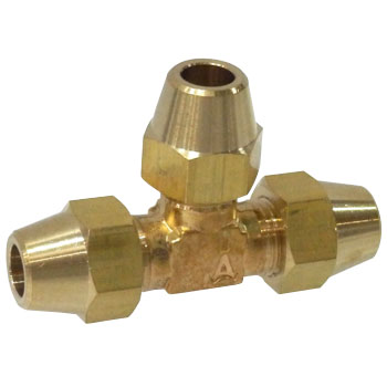 Three-Way-Type Flare Head Valve