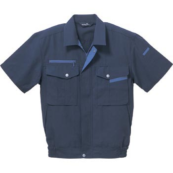 BF-502 Body Fine Short Sleeved Blouson, Unisex, Spring to Summer