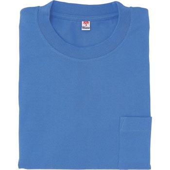 short-sleeved pocketed T-shirt
