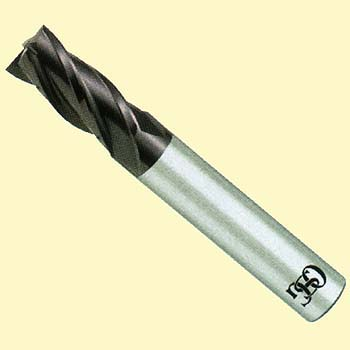 TUNGSTEN CARBIDE 4 BLADE WX21 END MILL (WX-EMS)