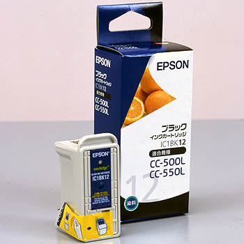 Ink Cartridge EPSON IC12, Genuine