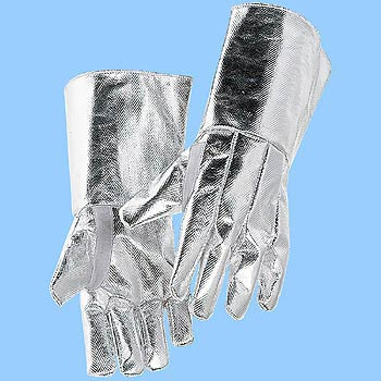 Heat Resistant Aluminized Gloves