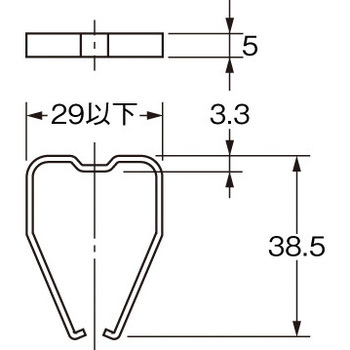 Common Socket Maintenance Metal Fittings for Square-Shaped Sockets