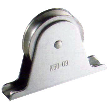 Foxed Vertical Pulley Block