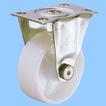 Stainless Steel 320SR, Rigid Caster, Nylon Wheel