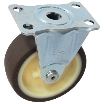 420R Rigid Caster, Nylon Wheel Urethane Rolling Wheel,