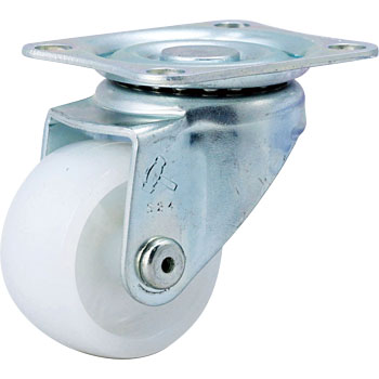 420S Swivel Caster, Nylon Solid Wheel